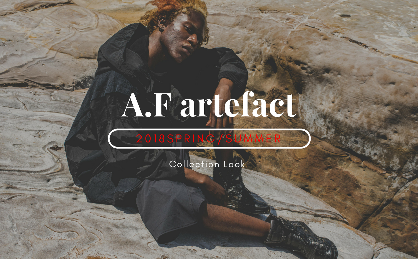 A.F artefact.2018SS/Collection Look