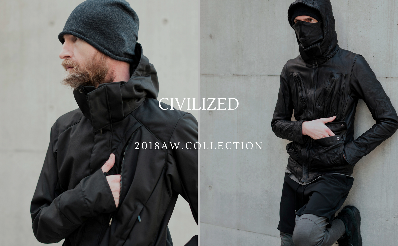 CIVILIZED.2018AW/Collection