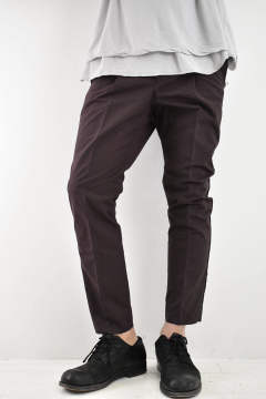 "1TUCK TROUSERS ""n""【Purple】"