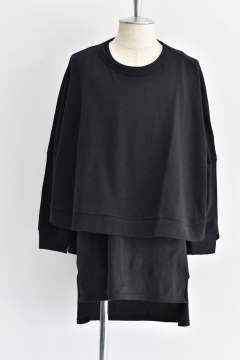 "Wide pullover""Black""/レディースアイテム"