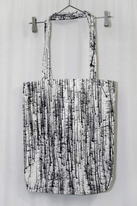 -NO MA(N)D'S LAND'-FOREST- PRINT TOTE BAG/トートバッグ