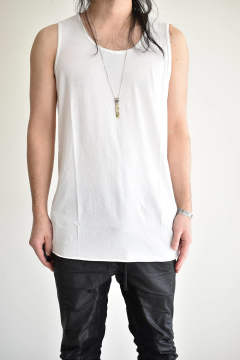 "LONG TANK TOP ""Off White""/ロングタンクトップ""ホワイト"""
