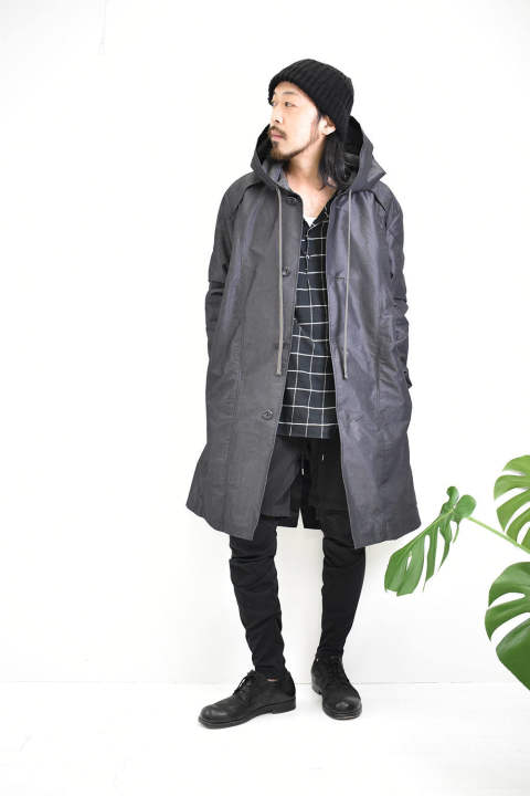 A.F artefact【Hoodie Coat×Bomber Heat】× CIVILIZED【Survival Layered Pants】